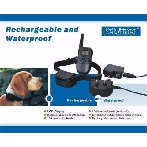 Collar Entrenamiento Para Perros Eléctrico Vibración Sonido