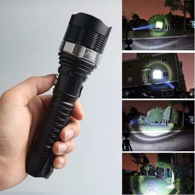 Linterna Led Recargable Skywol Usa 2500 Lumens Cree Xmlt6