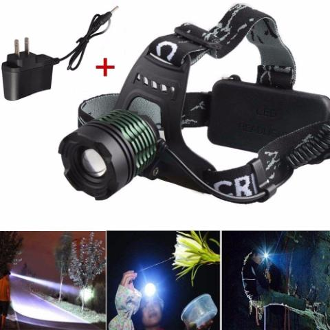 Linterna Minera Led Zoom Recargable De 8000 Lumen Skywol Usa