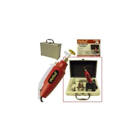 Mini Taladro 12v + Maletin De Aluminio Y Accesorios