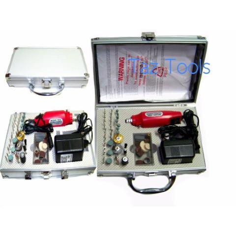 Motortool Electrico Con 60 Accesorios Maletin / Artesania