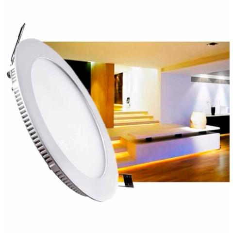 Panel Led Para Incrustar Ultradelgado 15 Wt
