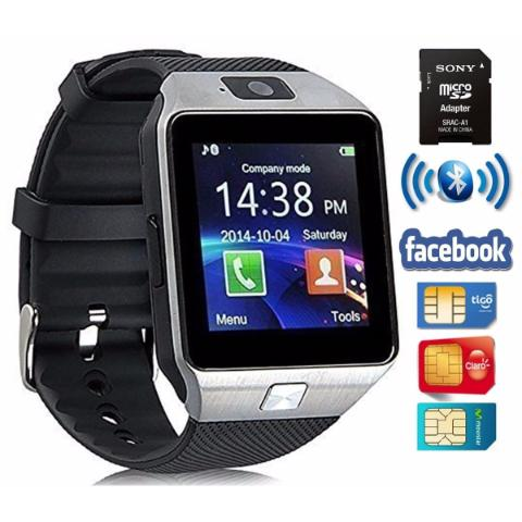 Reloj Inteligente Celular Smartwatch Bluetooth Dz09 Whatssap